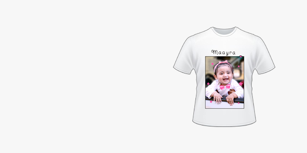 Customized Photo T shirt