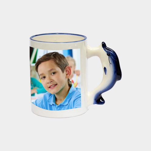 Dolphine Handle Mug 1