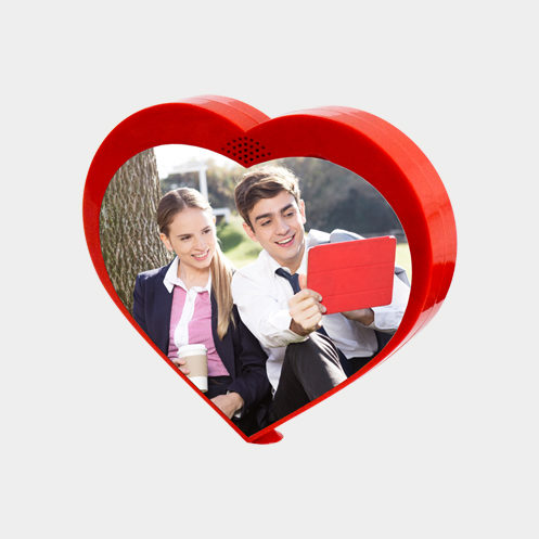 Rotating Heart Shape Photo Frame 2