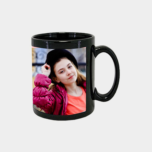 Full Black Mug