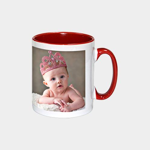 Inner Light Red Coffee Mug