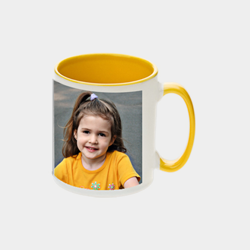 Inner Light Yellow Coffee Mug